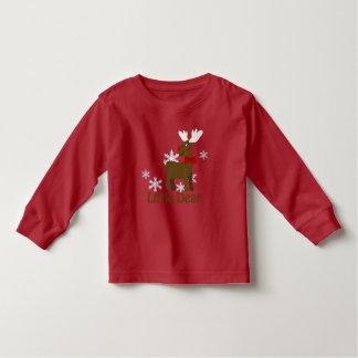 Cute Christmas Deer Little Dear Toddler T Toddler T-shirt
