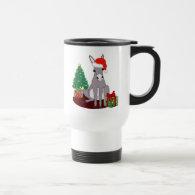 Cute Christmas Donkey Coffee Mug