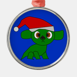 Cute Christmas Dragon Ornament