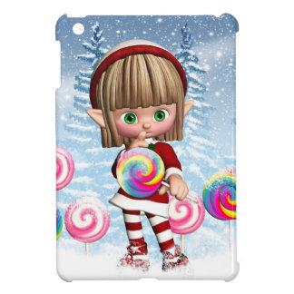 Cute Christmas Elf Case Savvy Glossy iPad Mini iPad Mini Covers