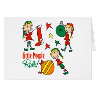 Cute Christmas Elf Gift Card