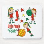 Cute Christmas Elf Gift Mousepads