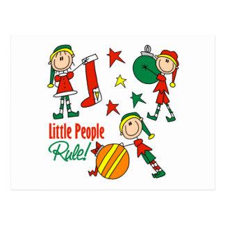 Cute Christmas Elf Gift Postcard