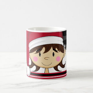 Cute Christmas Elf Mug