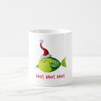 Cute Christmas Fish Mug
