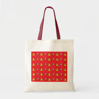 Cute Christmas Friends Tote Bag