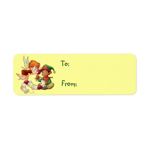 Cute Christmas Gift Tags Label