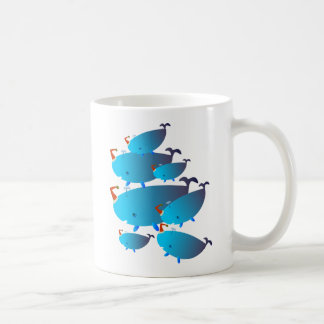 Cute Christmas Gifts: Whales Mugs