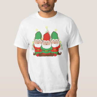 Cute Christmas Gnomes T-Shirt