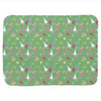 cute christmas goodies pattern baby blanket