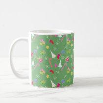 cute christmas goodies pattern coffee mug