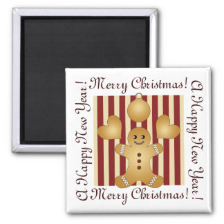 Cute Christmas Holiday Cookie Cartoon Kids Custom Magnet