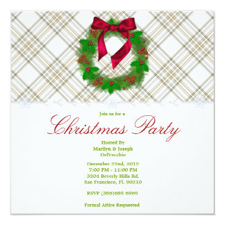 CUTE Christmas Holiday Party Card