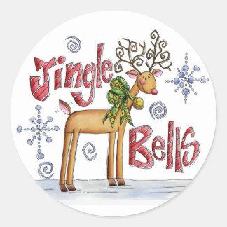 Cute Christmas Jingle Bell stickers