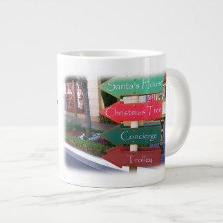 Cute Christmas Jumbo Mug! Giant Coffee Mug