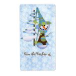 Cute Christmas Kitchen Labels