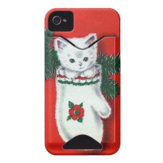 Cute Christmas Kitten