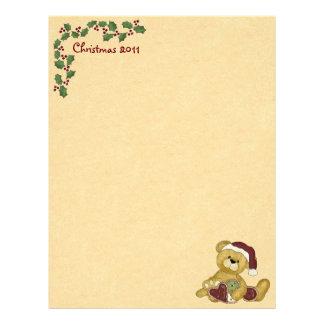 Cute Christmas Letterhead