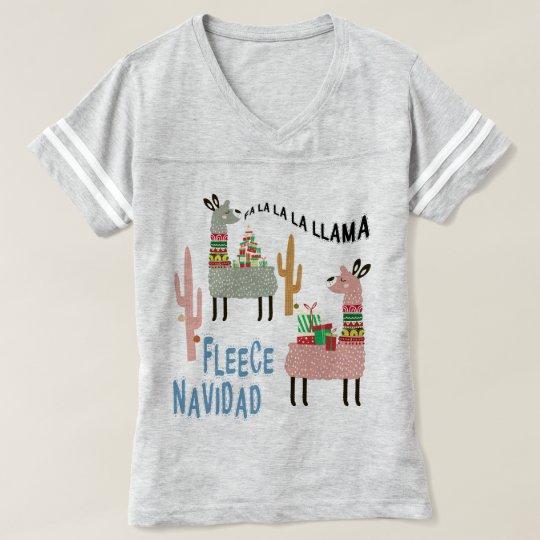 Llama Christmas Shirt.Cute Christmas Llamas T Shirt