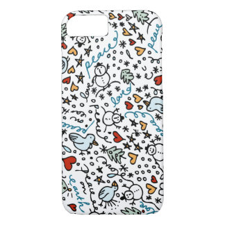 Cute Christmas Love iPhone 7 Case
