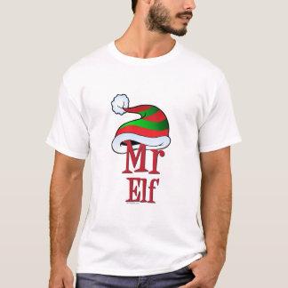 CUTE Christmas Mr Elf Family T-Shirt