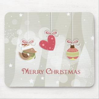 Cute Christmas Ornaments Mousepad