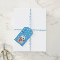 Cute Christmas Owl Personalized Gift Tags