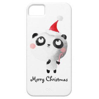Cute Christmas Panda Bear iPhone 5 Cases