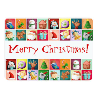 Cute Christmas Pattern Card