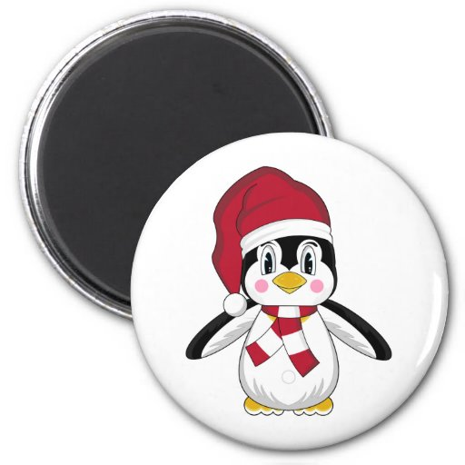 Cute Christmas Penguin Magnet Magnets