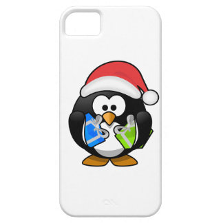 Cute Christmas Penguin Mobile Phone Case