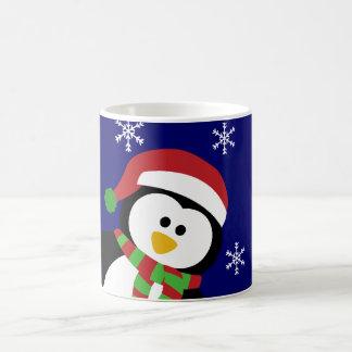 Cute Christmas Penguin Mugs