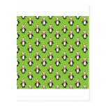 Cute Christmas Penguins Postcard