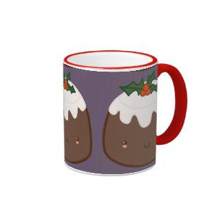 Cute Christmas Pudding Mug