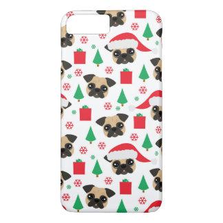 Cute Christmas Pug iPhone 8 Plus/7 Plus Case