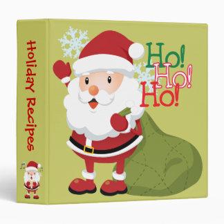 Cute Christmas Recipe binder