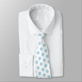 Cute Christmas Snowflake Pattern Tie