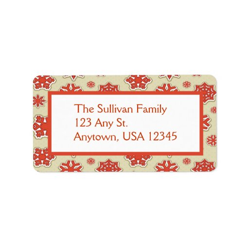Christmas Address Mailing Labels