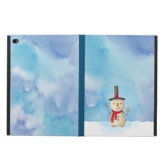 Cute Christmas Snowman Waving And Smiling Powis iPad Air 2 Case
