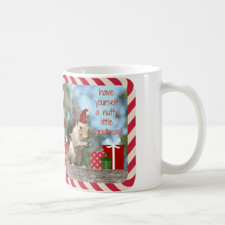 Cute Christmas Squirrel, Have a Nutty Xmas!! Coffee Mug