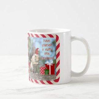 Cute Christmas Squirrel, Have a Nutty Xmas!! Coffee Mug