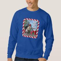 Cute Christmas Squirrel, Have a Nutty Xmas!! Sweatshirt
