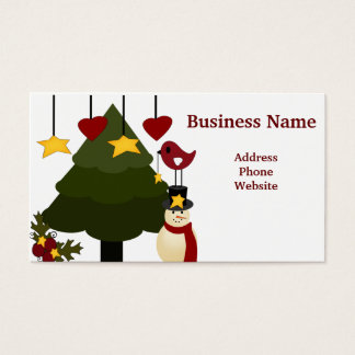 Cute Christmas Store Discount Promotion Sale Cards