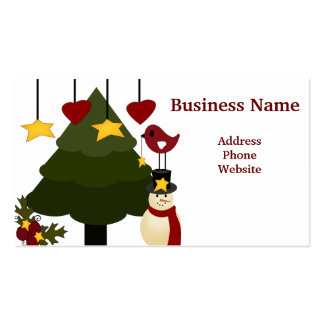 Cute Christmas Store Discount Promotion Sale Cards Business Card Template