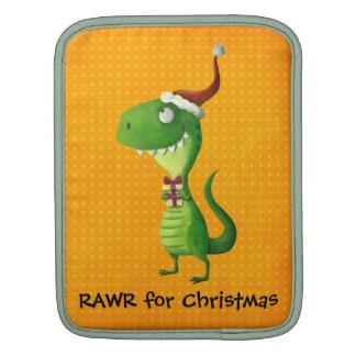Cute Christmas T-rex Sleeve For iPads