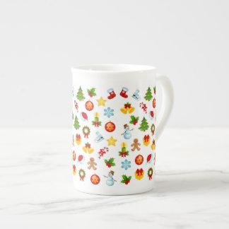 Cute Christmas Tea Cup