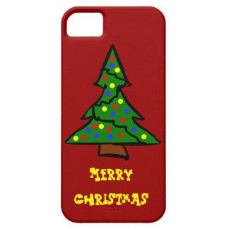 Cute Christmas Tree Holiday iPhone 5 Case Xmas