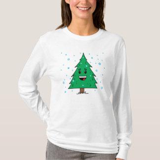 Cute Christmas Tree - Ladies Hoody