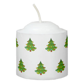 Cute Christmas Tree Votive Candle