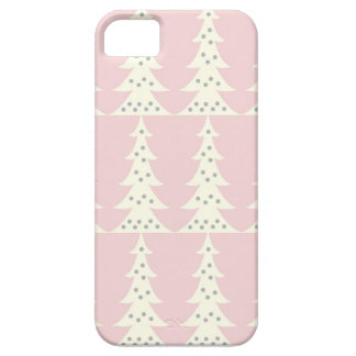 Cute Christmas Tree Winter Design iPhone 5 Case